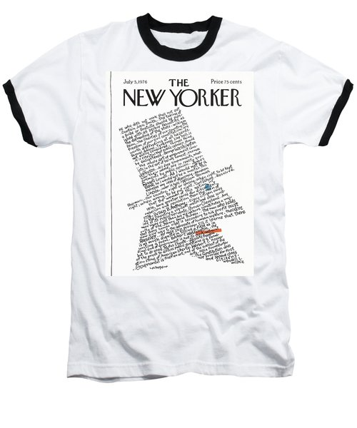 New Yorker July 5th, 1976 Baseball T-Shirt