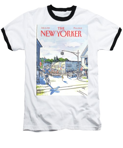 New Yorker July 6th, 1981 Baseball T-Shirt