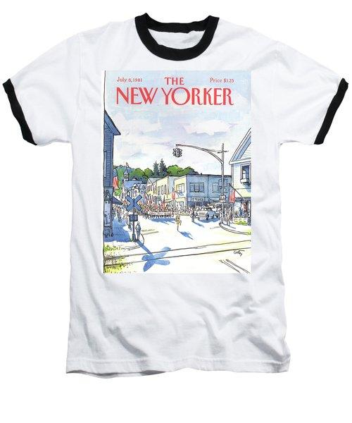 New Yorker July 6th, 1981 Baseball T-Shirt