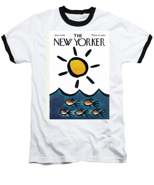 New Yorker June 10th, 1972 Baseball T-Shirt