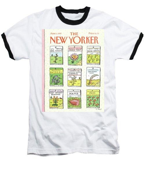 New Yorker June 1st, 1987 Baseball T-Shirt