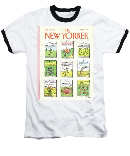 New Yorker June 1st, 1987 Baseball T-Shirt