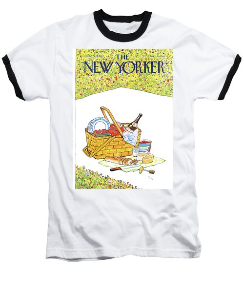New Yorker June 5th, 1978 Baseball T-Shirt