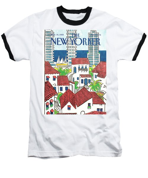 New Yorker March 14th, 1988 Baseball T-Shirt