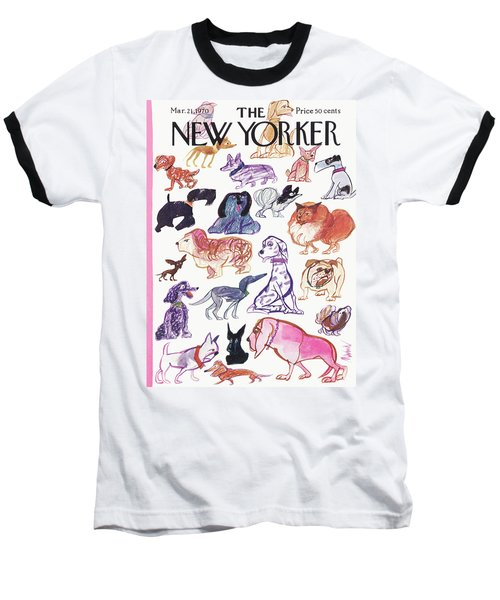 New Yorker March 21st, 1970 Baseball T-Shirt