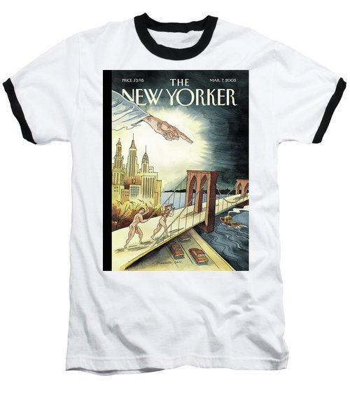 New Yorker March 7, 2005 Baseball T-Shirt