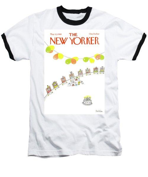 New Yorker May 12th, 1980 Baseball T-Shirt