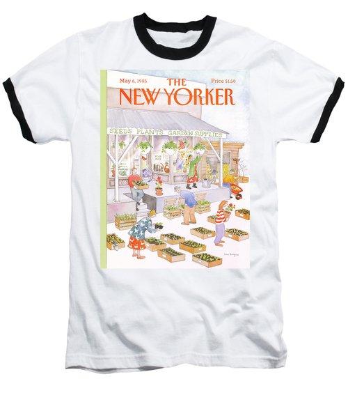 New Yorker May 6th, 1985 Baseball T-Shirt