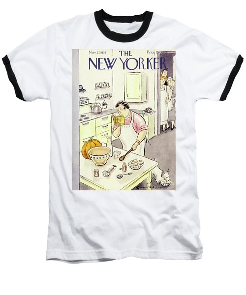New Yorker November 27 1937 Baseball T-Shirt