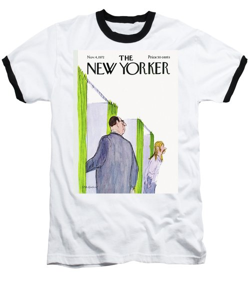 New Yorker November 4th, 1972 Baseball T-Shirt