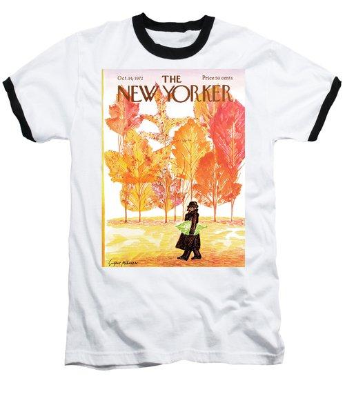 New Yorker October 14th, 1972 Baseball T-Shirt