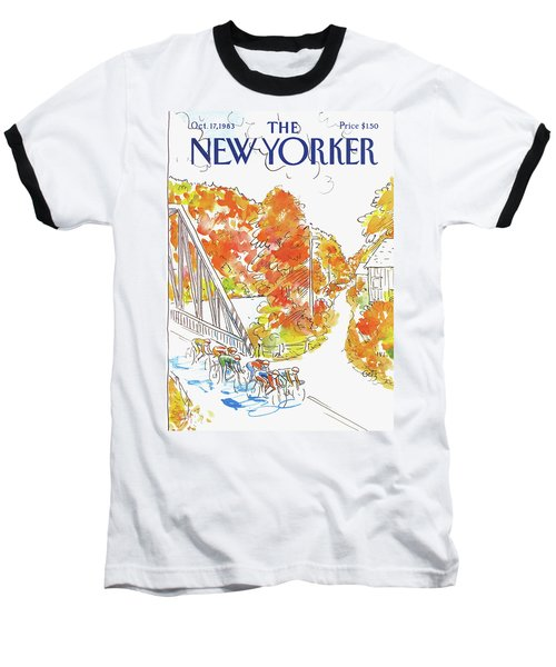 New Yorker October 17th, 1983 Baseball T-Shirt