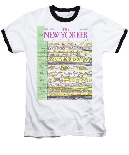 New Yorker October 1st, 1990 Baseball T-Shirt