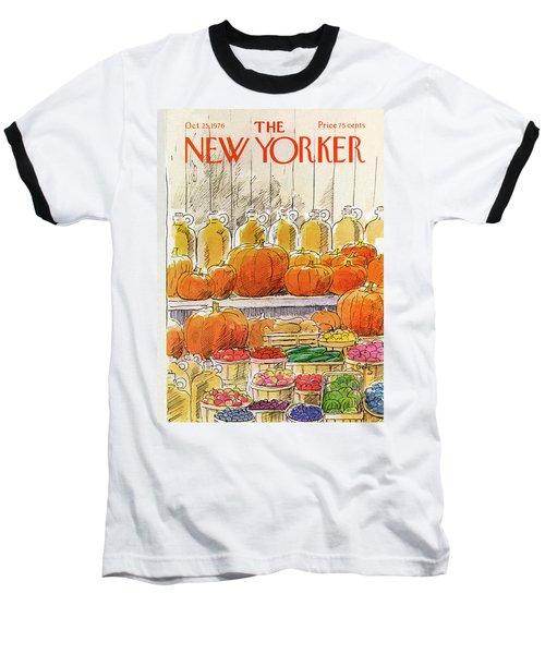 New Yorker October 25th, 1976 Baseball T-Shirt