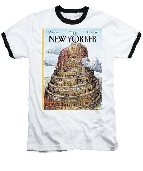 New Yorker October 2nd, 1995 Baseball T-Shirt