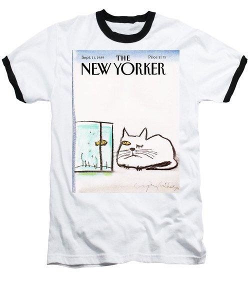 New Yorker September 11th, 1989 Baseball T-Shirt
