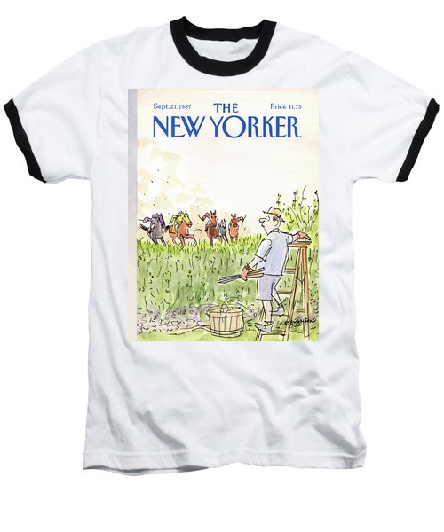 New Yorker September 21st, 1987 Baseball T-Shirt