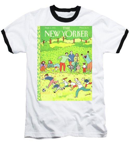 New Yorker September 2nd, 1991 Baseball T-Shirt