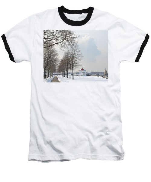 Newport Waterfront Baseball T-Shirt