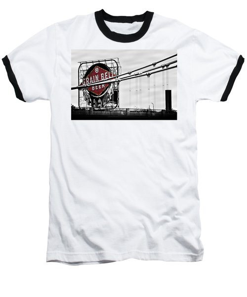 Nicollet Island Treasure Baseball T-Shirt