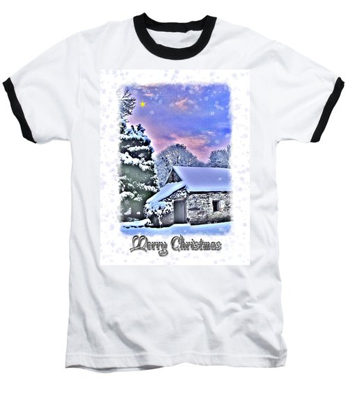 Christmas Card 27 Baseball T-Shirt
