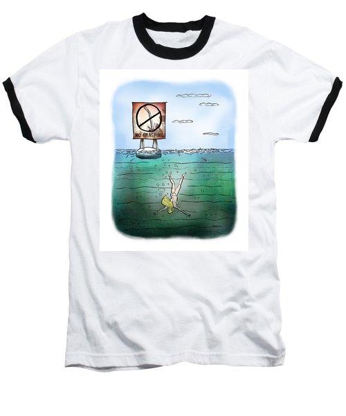 No Grasping Baseball T-Shirt