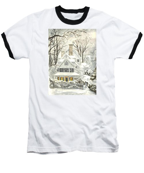 No Place Like Home For The Holidays Baseball T-Shirt