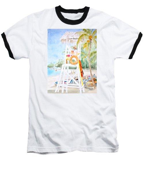 No Problem In Jamaica Mon Baseball T-Shirt by Marilyn Zalatan
