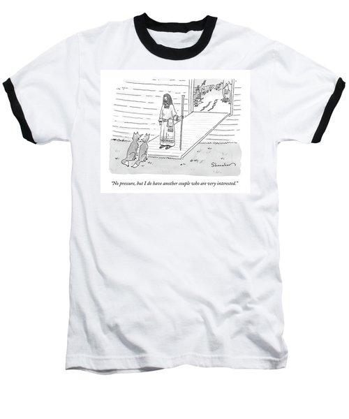 Noah Addresses Two Foxes At The Entrance Baseball T-Shirt