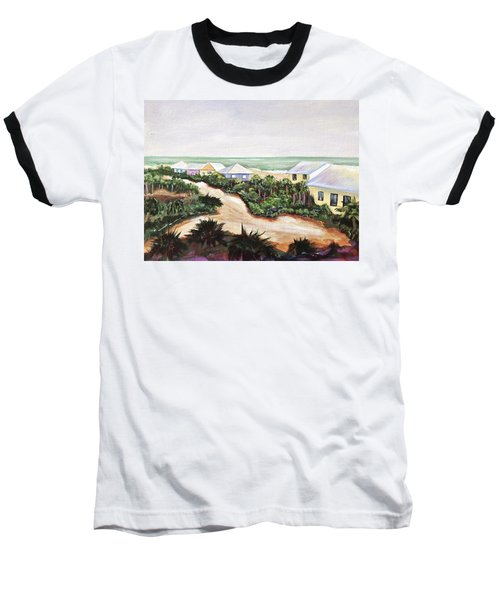 North Captiva Baseball T-Shirt by Patricia Piffath