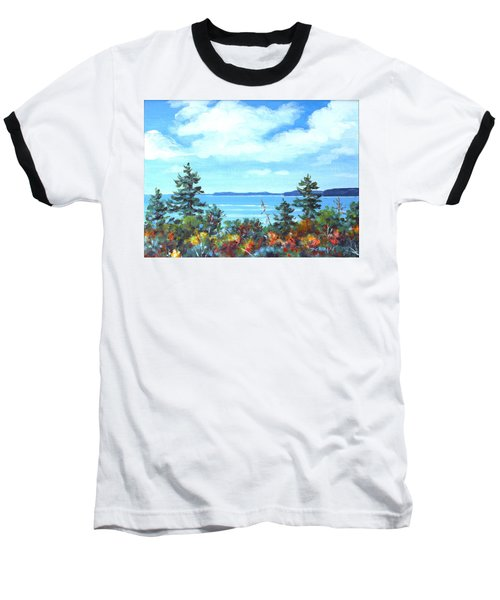 North Sky Sketch Baseball T-Shirt