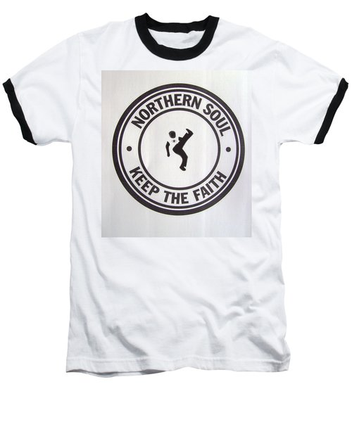 Northern Soul Dancer Baseball T-Shirt