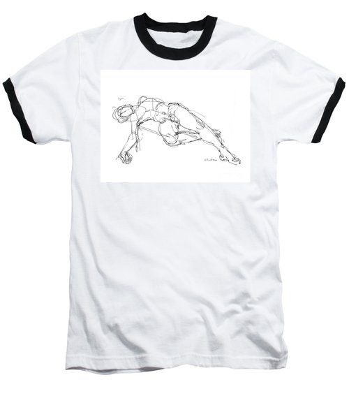 Nude Male Drawings 1 Baseball T-Shirt