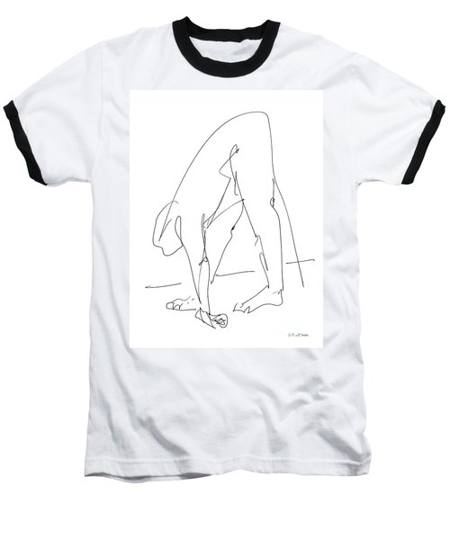 Nude Male Drawings 32 Baseball T-Shirt