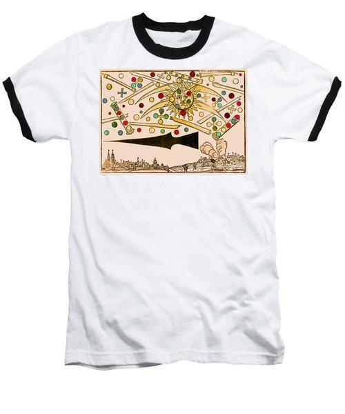 Nuremberg Ufo 1561 Baseball T-Shirt