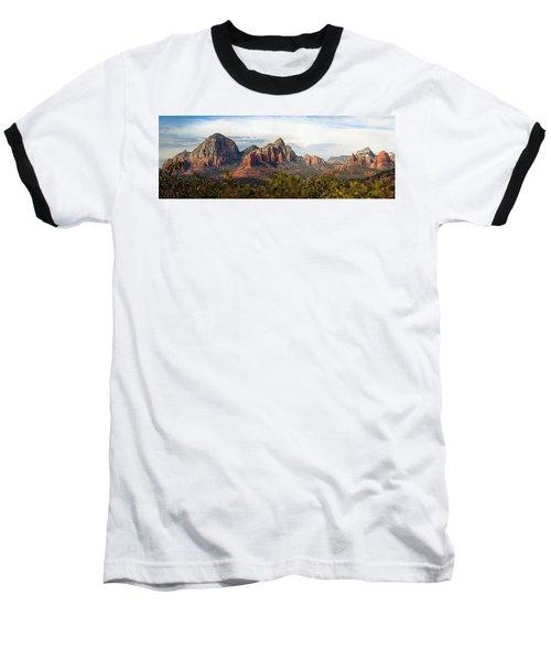 Oak Creek Canyon Sedona Pan Baseball T-Shirt by Jeff Brunton