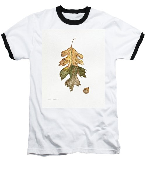 Baseball T-Shirt featuring the painting Oak Study by Michele Myers
