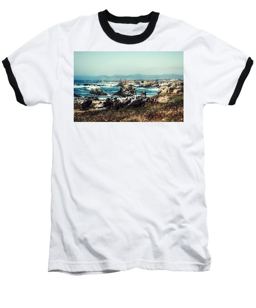 Ocean Breeze Baseball T-Shirt by Melanie Lankford Photography