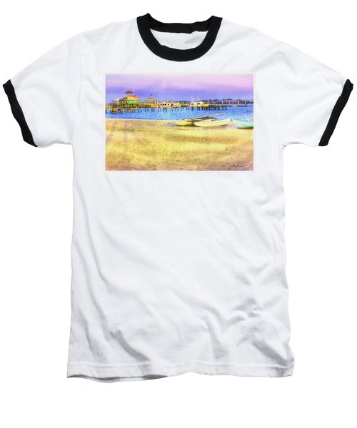Coastal - Beach - Boats - Ocean Front Property Baseball T-Shirt