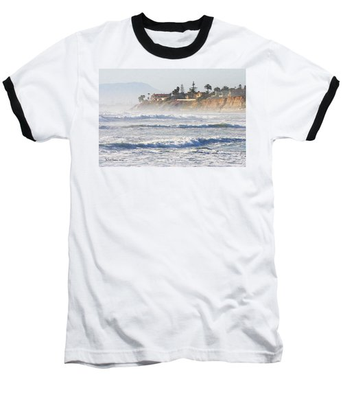 Baseball T-Shirt featuring the photograph Oceanside California by Tom Janca