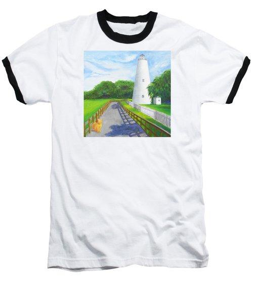 Ocracoke And Friend Baseball T-Shirt