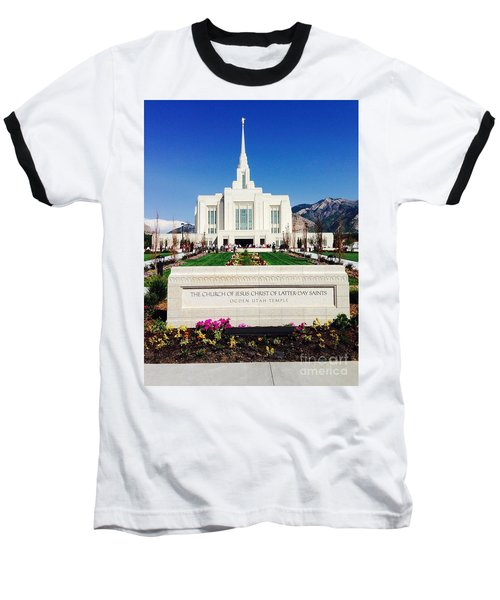 Ogden Temple 1 Baseball T-Shirt