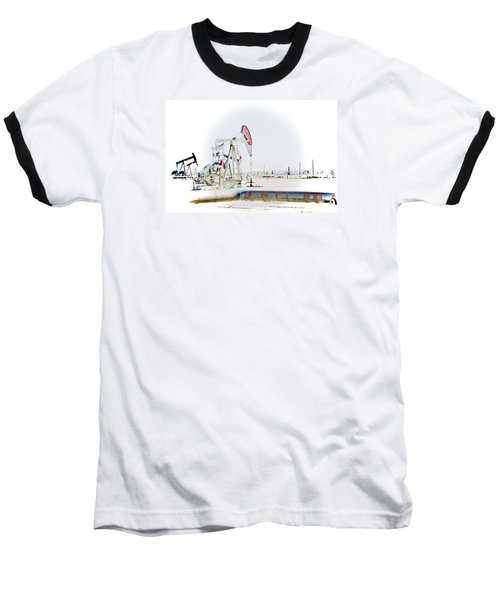 Oil Field Baseball T-Shirt