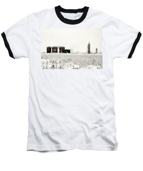 Oklahoma Wellsite Baseball T-Shirt