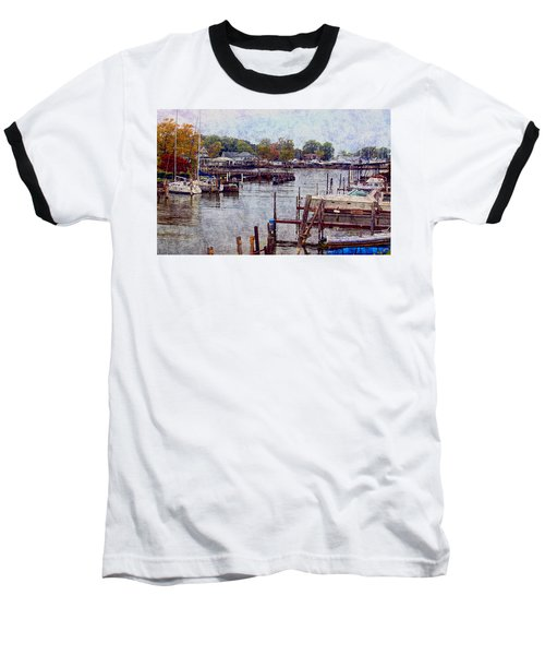 Baseball T-Shirt featuring the photograph Olcott by Tammy Espino