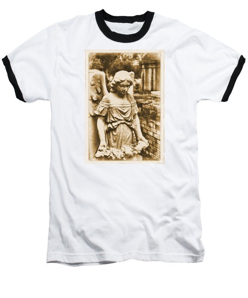 Baseball T-Shirt featuring the photograph Blessed Angel   by Nadalyn Larsen