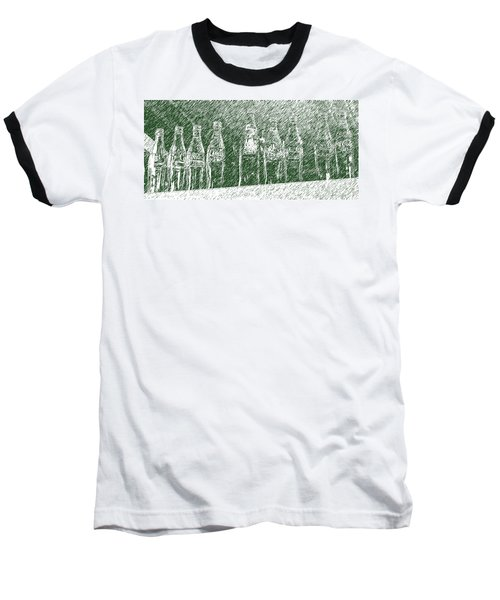 Baseball T-Shirt featuring the photograph Old Coke Bottles by Greg Reed