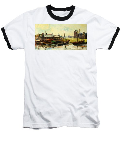Old Fisherman's Village Baseball T-Shirt