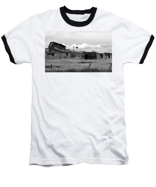 Old Fort Baseball T-Shirt by Steven Reed