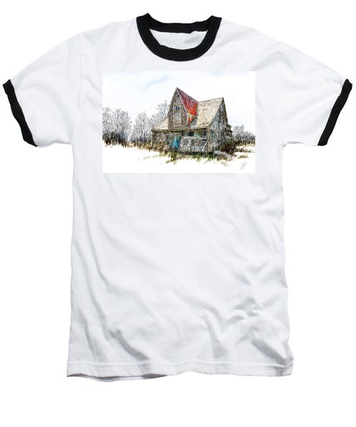 Old House Baseball T-Shirt